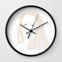 Laura Enever Wall Clock