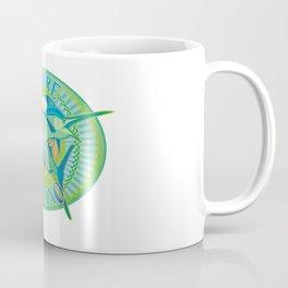 Green Marlin Coffee Mug