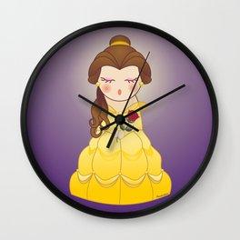Kokeshi Beauty Wall Clock