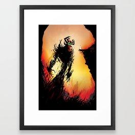 Shadow Warrior  Framed Art Print