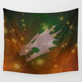 Into the fires of battle, unto the Anvil of War! Wall Tapestry