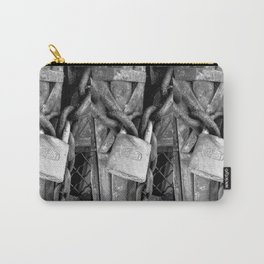 Locked B&W Carry-All Pouch