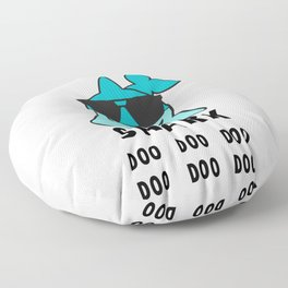 Daddy Shrk Doo Doo Doo, Funny Daddy Shark Floor Pillow