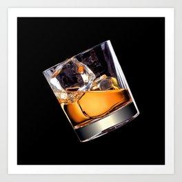 Whisky on the Rocks Art Print