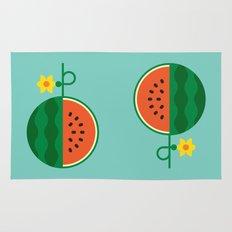 Fruit: Watermelon Rug