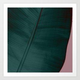 Banana Leaf Edition Art Print