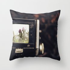 TTV Tulips Throw Pillow