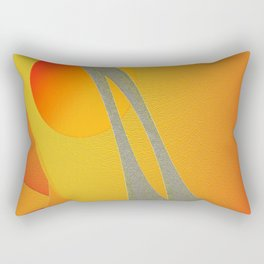Sunset Dance Rectangular Pillow