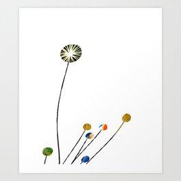 Style Blossoms Art Print