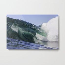 Beautiful Wave at Copacabana - Rio de Janeiro -Brazil Metal Print