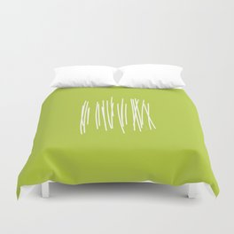 Wood - Minimal FS - by Friztin Duvet Cover
