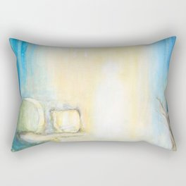 Auferstehung - Joy Of The Resurrection Rectangular Pillow