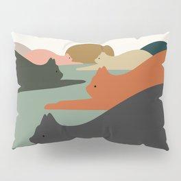 Cat Landscape 93 Pillow Sham