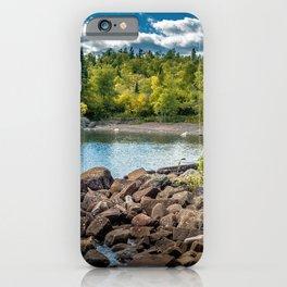 Lake Superior Cove iPhone Case