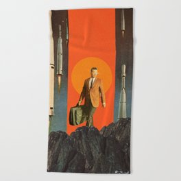 The Departure Beach Towel
