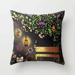 Your Night Niche Throw Pillow