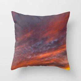 Heavenly Glow Throw Pillow