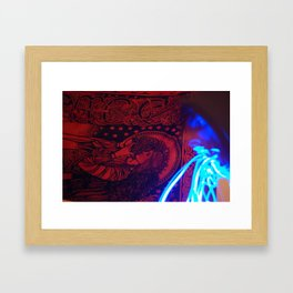 pour out Framed Art Print