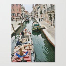 Canals of Venice I Canvas Print