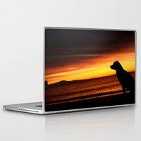best friend Laptop & iPad Skins featuring Best Friend Good Mornings by RichCaspian