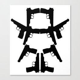 Pistol Robot Canvas Print