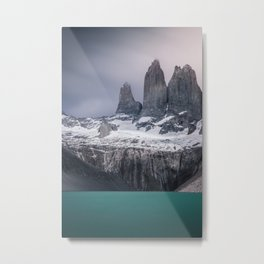 Three giants Metal Print