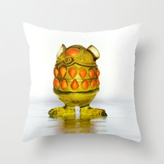 Monster Toy Throw Pillow