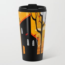 A Haunting We Will Go Travel Mug