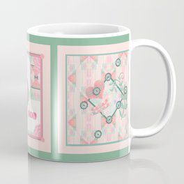 Buttons and Bows Quilt Coffee Mug