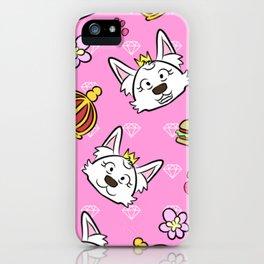 Sweetie pattern iPhone Case