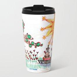 :: Hearts for Blue Bunny :: Travel Mug