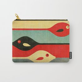 Three Fish in My Mind Carry-All Pouch