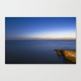 The sun is gone. Canvas Print