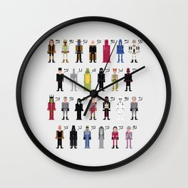 The Dark Side Alphabet 2 Wall Clock