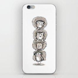 Hedgehog Totem iPhone Skin