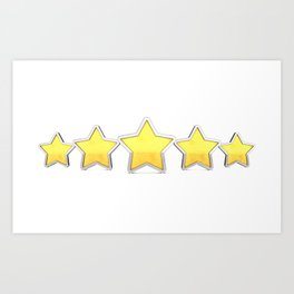 Product quality rating Art Print