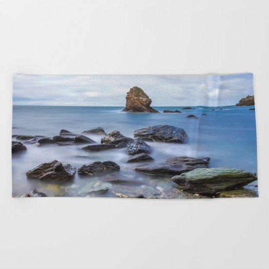 Gwenfaens Pillar Beach Towel