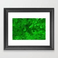 acid swirls  Framed Art Print
