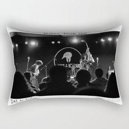 Birds in the Boneyard, Print Seven: Birds Rock Out! Rectangular Pillow