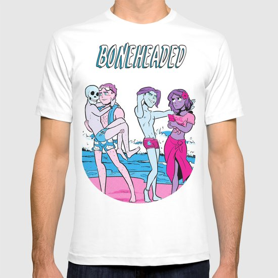 Boneheaded: Summer Break T-shirt