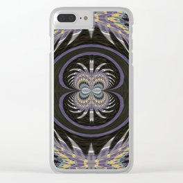 Wart Eye Pattern 8 Clear iPhone Case