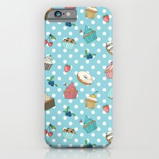 Donuts and muffins iPhone 6s Slim Case