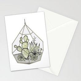 Succulent Terrarium Stationery Cards
