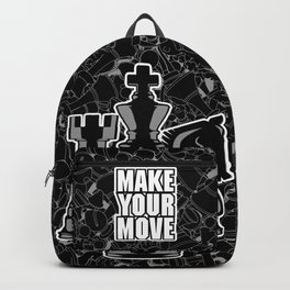 Make Your Move Chess Backpack