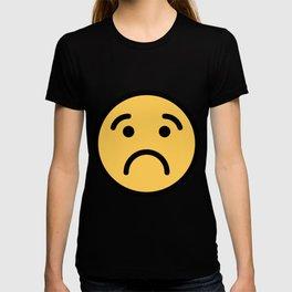 Smiley Face   Cute Quite Sad Smileys T-shirt