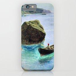 Simeiz 1899 By Lev Lagorio   Reproduction   Russian Romanticism Painter iPhone Case