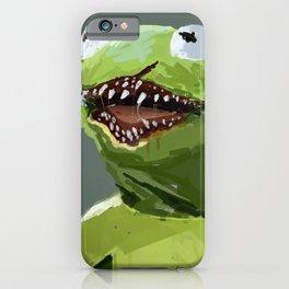 kermit to it iPhone Case