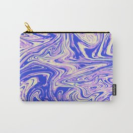 Purple marble with raspberry tint Carry-All Pouch