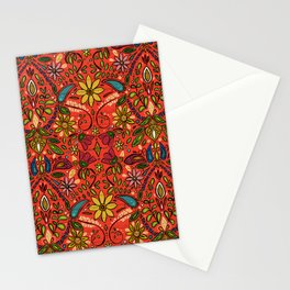 aziza fire Stationery Cards