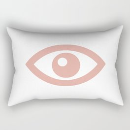 eye am stressed Rectangular Pillow